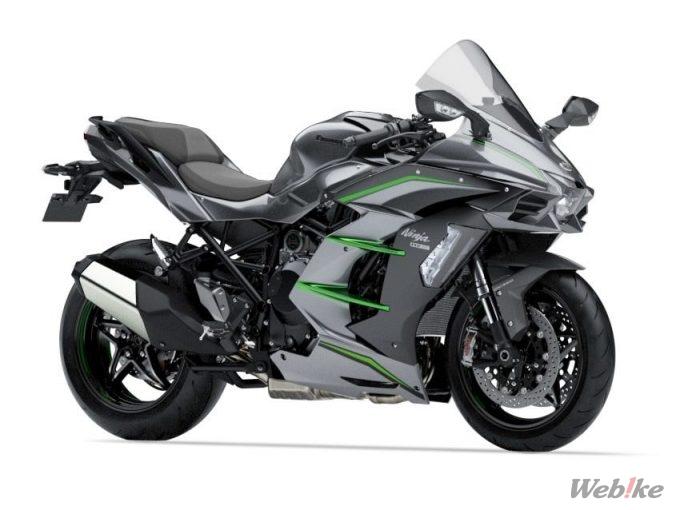 【新車】最上位モデルが新登場!カワサキ「Ninja H2 SX/H2 SX SE/H2 SX SE+」が2/1に発売