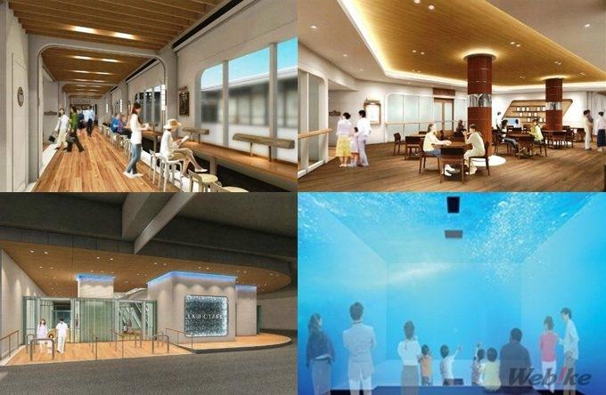 海ほたるが店舗などをリニューアルして4/20にグランドオープン アクアライン建設過程が見られるシアターも