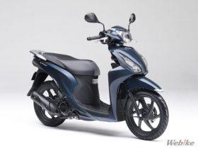 【新車】ホンダ、「Dio110」のカラーバリエーションを変更し2/22に発売