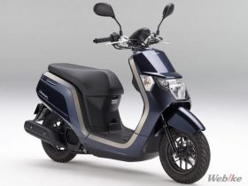 【新車】ホンダ、原付一種スクーター「Dunk」のカラーバリエーションを変更し3/8に発売