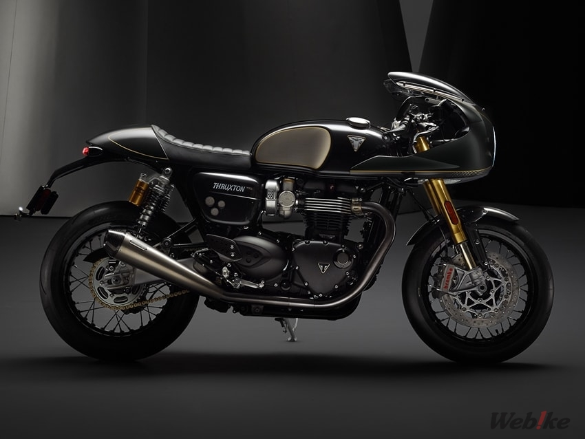 Started Pre Order Triumph New Model Thruxton Tfc T120 Ace