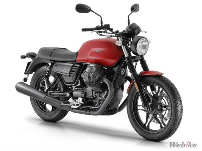【新車】モト・グッツィ「V7 III Stone」'19モデルが2/8より受注開始 2色の新色を導入