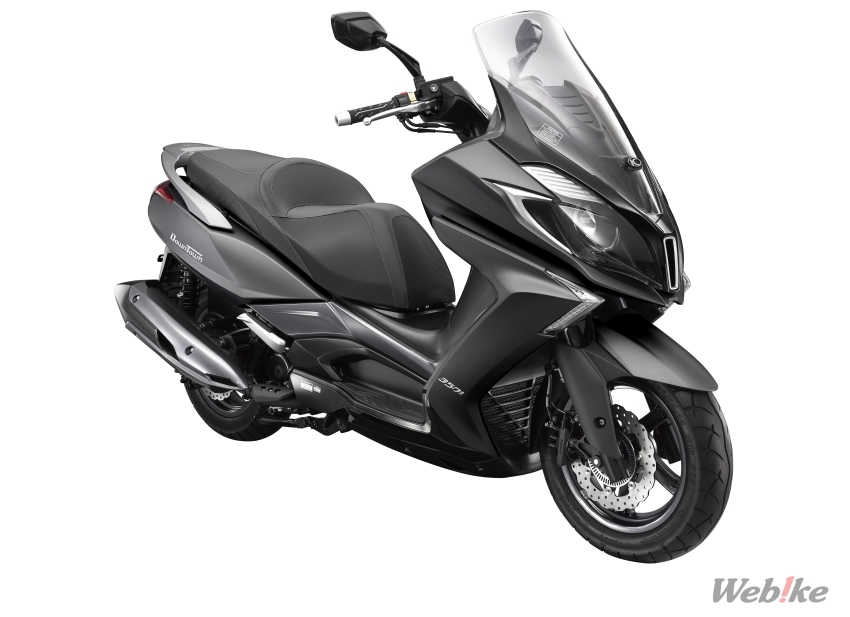 "New Motorcycle] KYMCO, 125 Scooter largest body ""Downtown"