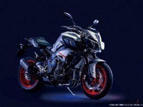 【新車】ヤマハ、「MT-10 ABS」をカラーチェンジ MTシリーズ最高峰モデルに相応しい存在感を演出