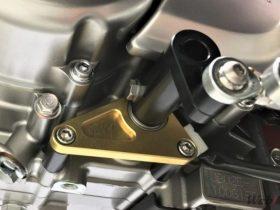 【新製品】モンキー125用のフロントアクスルスライダーとチェンジシャフトホルダーが登場!