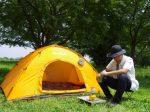 初めてのキャンプツーリング その2:眠る・過ごす