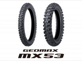 【新製品】DUNLOP「GEOMAX MX53」が発売 ミディアム路向けモトクロス競技専用タイヤ