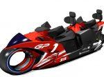 鈴鹿サーキット、日本初のレーシングバイク型コースター「GP RACERS」を来年3/1にオープン