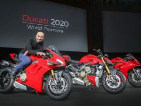 ドゥカティ、「ストリートファイターV4」「パニガーレV2」「パニガーレV4」ニューモデルを発表