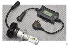アブソリュートのLEDコンバージョンキットは発光部の位置調整で最適な配光を実現!