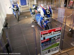 F.C.C. TSR Honda France、EWCマシン2台を新名神・鈴鹿PAで展示
