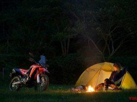ガチンコバイク女子・コイの「野駆け・林道・キャンピング」〈房総編〉【林走済んで日が暮れて】