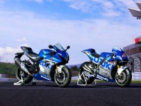 【新車】スズキ「GSX-R1000R ABS」に100周年記念カラーが登場 MotoGP参戦マシン「GSX-RR」モチーフ