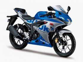 【新車】スズキ、「GSX-R125」に100周年記念カラーが登場 MotoGP参戦マシン「GSX-RR」モチーフ