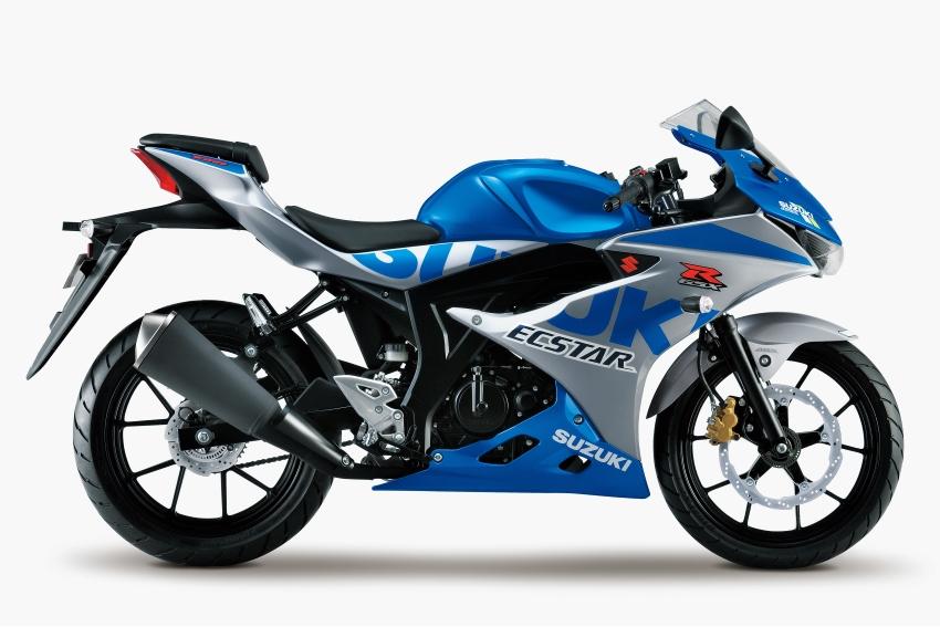 Màu kỷ niệm 100 năm SUZUKI! GSX-R125 của MotoGP GSX-RR Motif đã được ra mắt