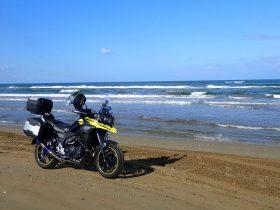 【みんなで作るおすすめツーリング情報】 一度は行きたい、石川県・千里浜なぎさドライブウエイ