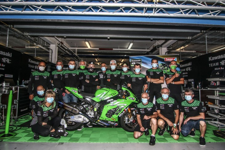【Webike SRC Kawasaki France TRICKSTAR】EWC最終戦 ポルトガル12時間耐久 トラブルも諦めず6位フィニッシュ