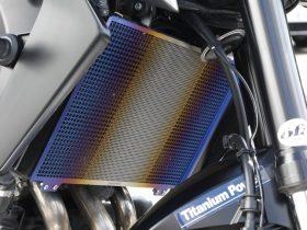 【新製品】チタニウムパワーからMT-09/TRACER/XSR900用チタン製ラジエーターコアガードが登場!【爆誕】