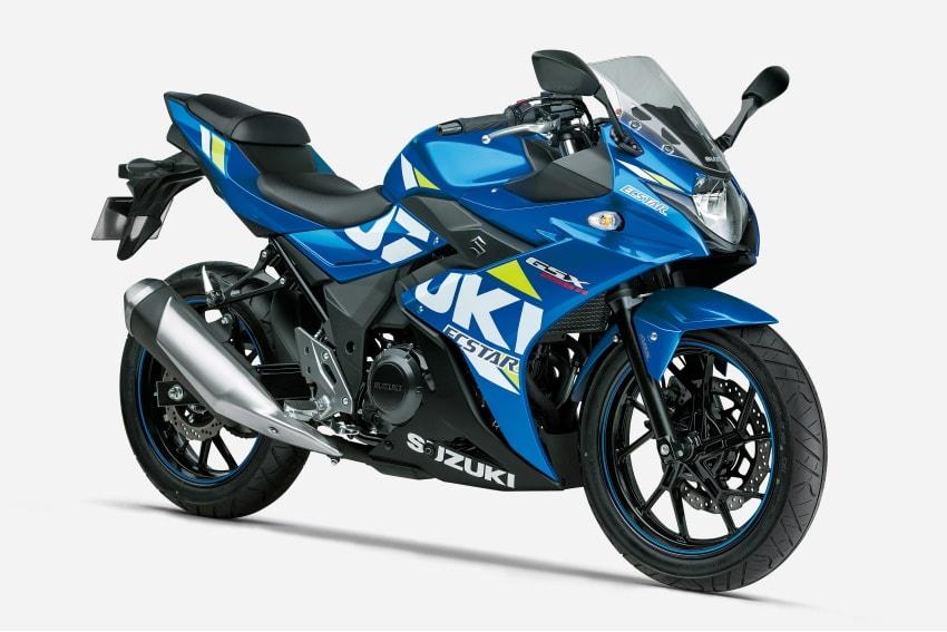 Suzuki GSX250R 2021 ABS thiết kế mới đặc trưng và ấn tượng
