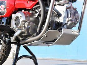 【新製品】モリワキ、CT125 ハンターカブ用「スキッドプレート」を2月末に発売