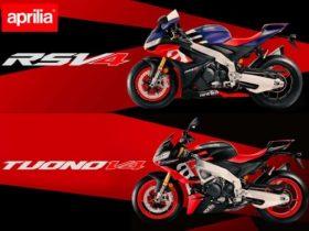 【新車】アプリリア、新型「RSV4 1100 ファクトリー」「トゥオーノ V4ファクトリー」を発表