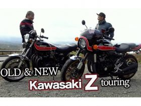 【FEEL風】kawasaki Z1 & Z900RS ride on / 新旧Zツーリング