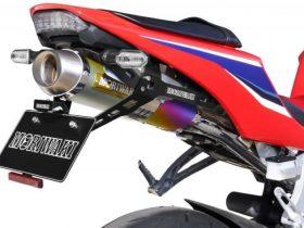 【新製品】モリワキ、新保安基準適合の21'CBR600RR用「ショートフェンダーキット」が登場