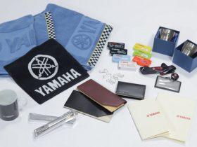 【新製品】ヤマハ、「ロゴ入りノベルティ」や「歴史的バイクイラスト」を発売