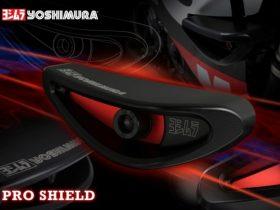 【新製品】万一の転倒時にダメージを最小限に抑える、ヨシムラレーシングスライダーキット【PRO SHIELD】が新登場!