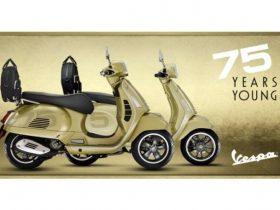 【新車】ベスパ、生誕75周年を記念した『Vespa 75th』を発売